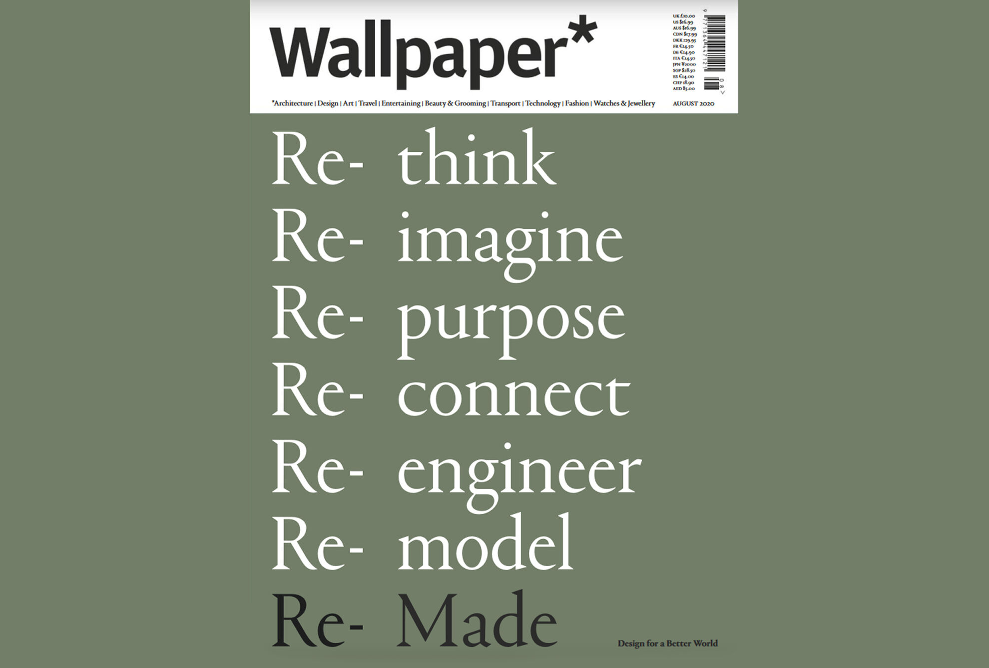 Wallpaper* Magazine Re-Made exhibition